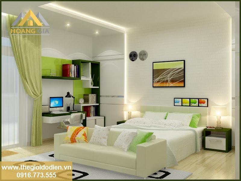 đèn tuýp led hắt trần cho phòng ngủ