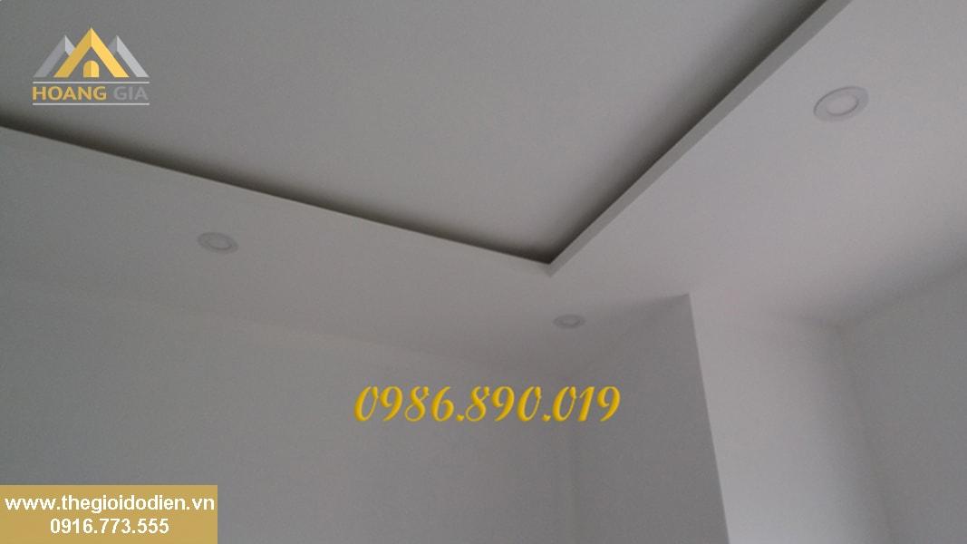 đèn led âm trần cho căn hộ chung cư