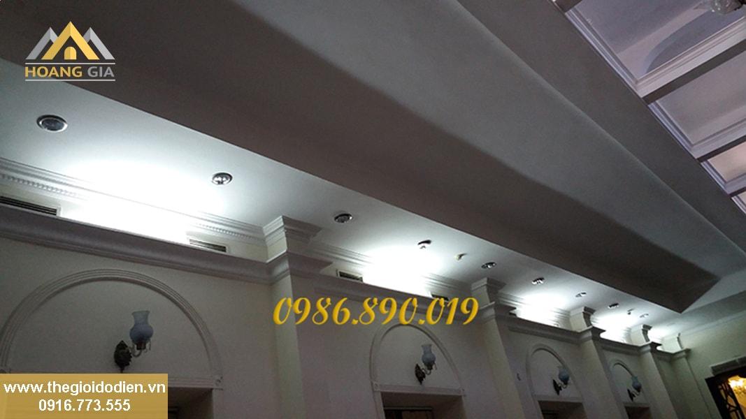 đèn led âm trần cho khách sạn
