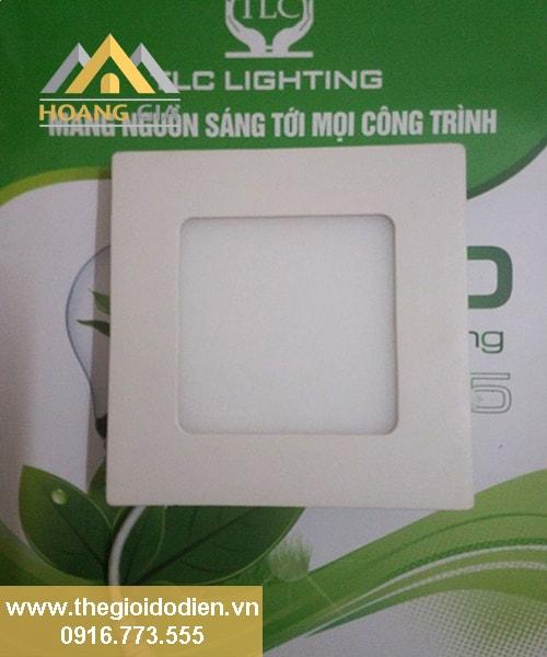 đèn led âm trần siêu mỏng vuông