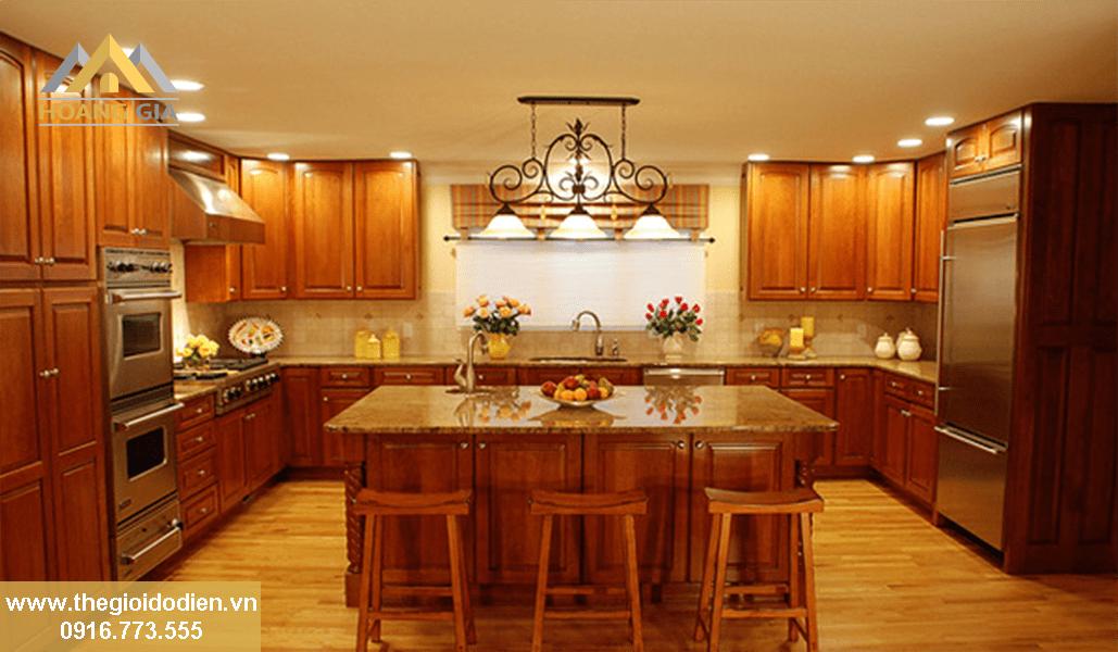 đèn led âm trần cho phòng ăn, bếp