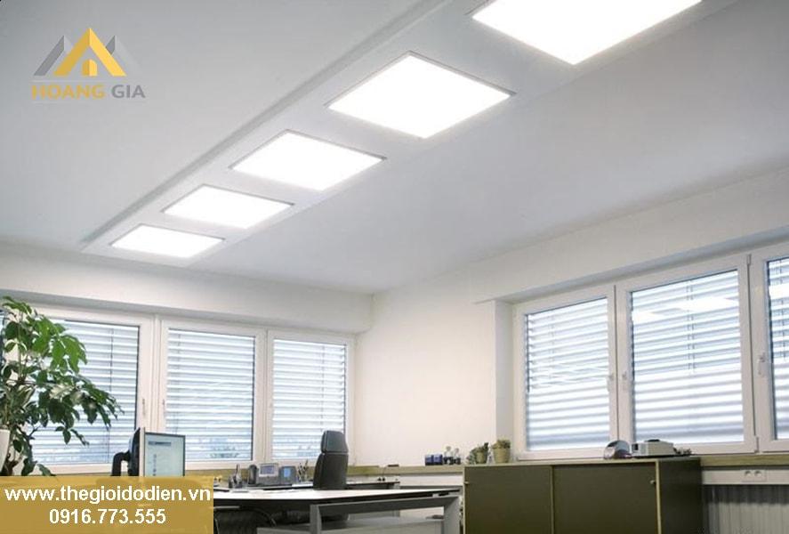 đèn led panel cho trần thạch cao