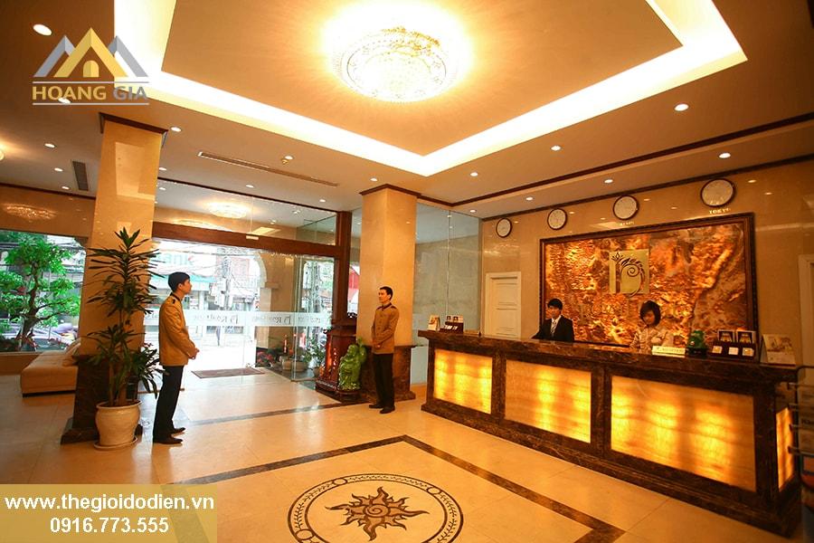 Đèn led chiếu sáng cho nhà hàng, khách sạn