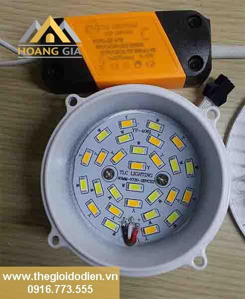 Bí kíp lựa chọn đèn led downlight âm trần
