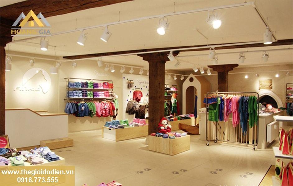 Đèn led chiếu sáng cho cửa hàng