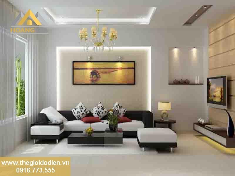 Tư vấn hệ thống đèn led cho phòng khách