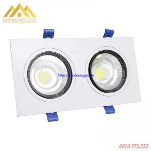 Đèn led downlight đôi COB