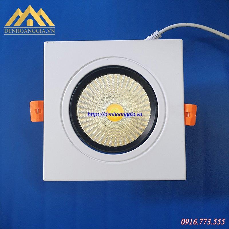 Đèn led downlight âm trần đơn mặt vuông chiếu điểm TLC