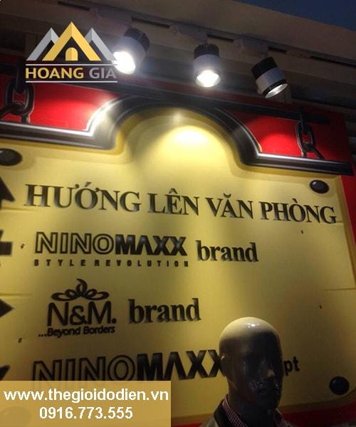Đèn led rọi ray siêu sáng tại Hà Nội