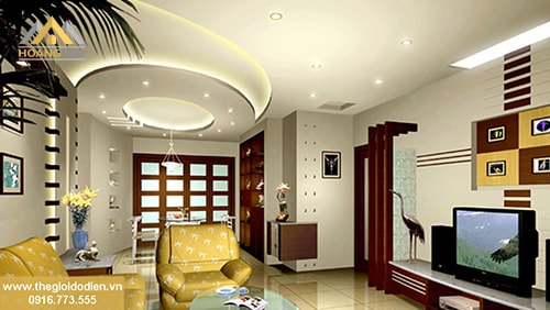 Bí quyết giúp ngôi nhà sang trọng hơn với đèn led âm trần thạch cao
