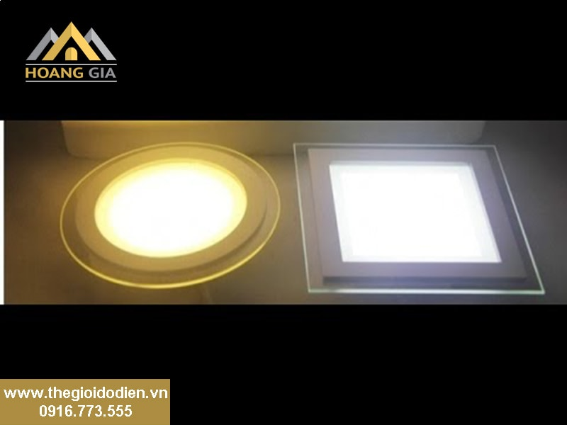 Đặc điểm của đèn led âm trần 7W đổi màu cao cấp
