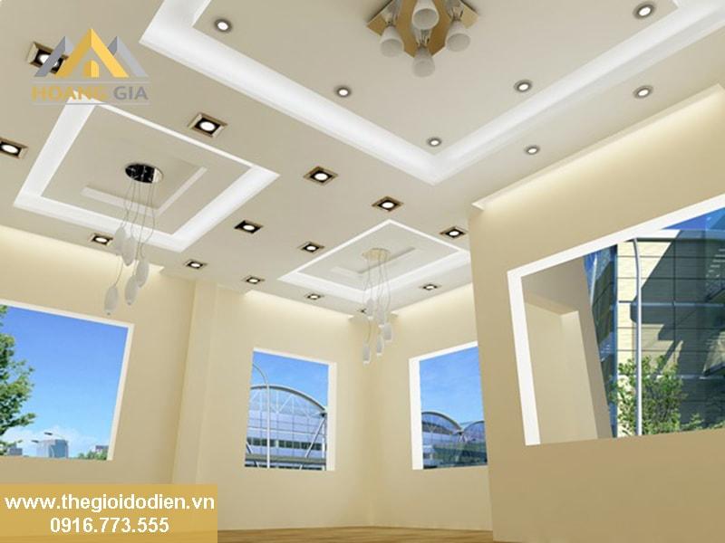 Sử dụng đèn âm trần cho trần thạch cao hợp lý nhất