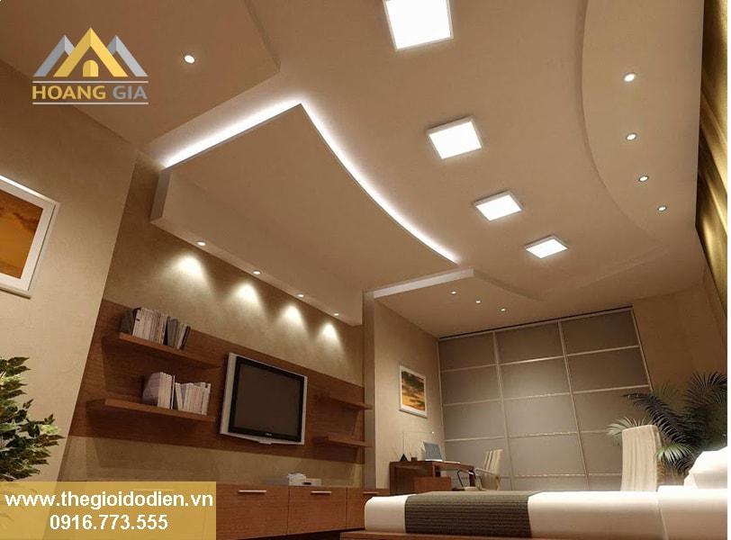 Sử dụng đèn led âm trần bừng sáng các căn hộ chung cư cao cấp