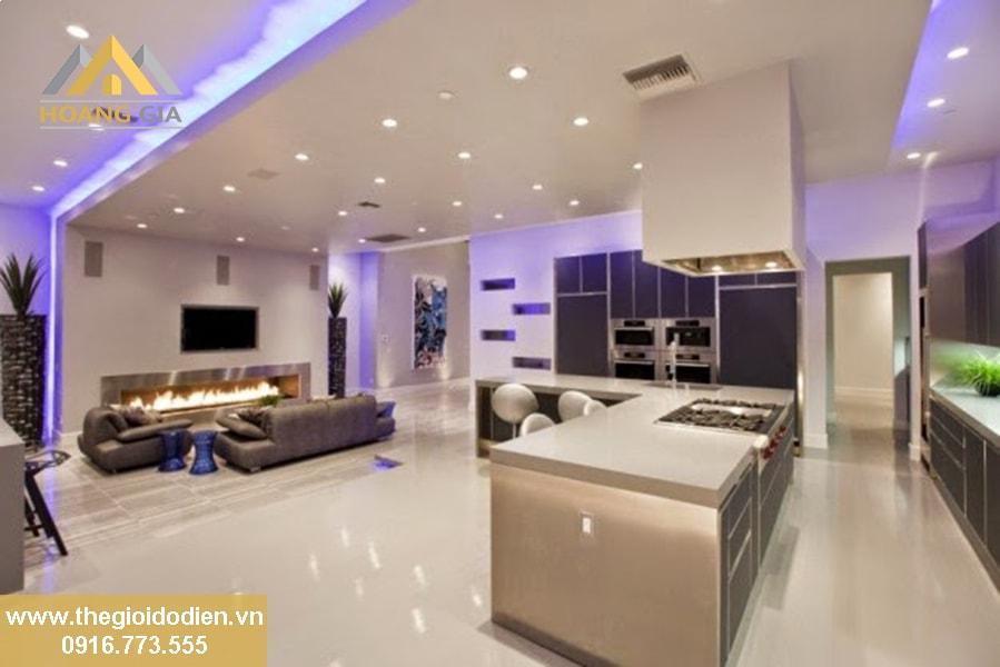 Tiết kiệm chi phí khi sử dụng đèn led âm trần chiếu sáng nhà ở