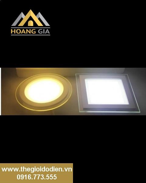 Bóng đèn led âm trần đổi màu phù hợp với mọi kiểu chiếu sáng cho nhà ở