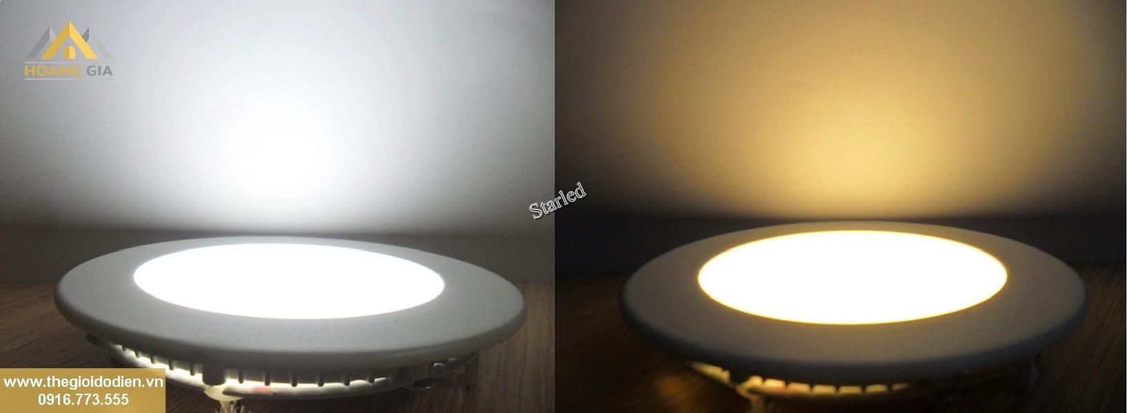 Cách lựa chọn đèn led âm trần ba màu chất lượng tại Hà Nội