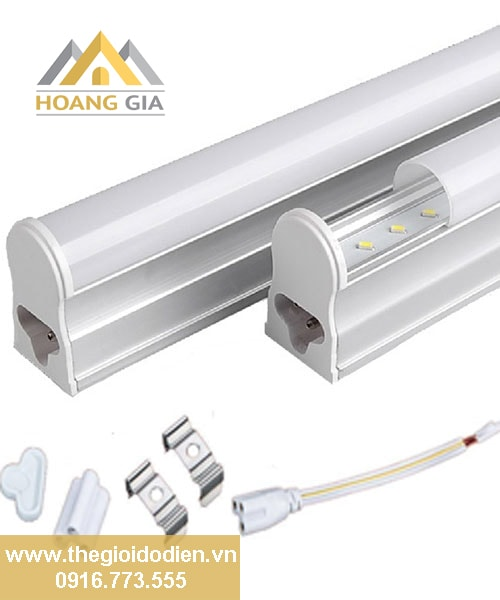 Đèn tuýp led T5- sản phẩm không thể thiếu cho các loại trần giật, hắt trần