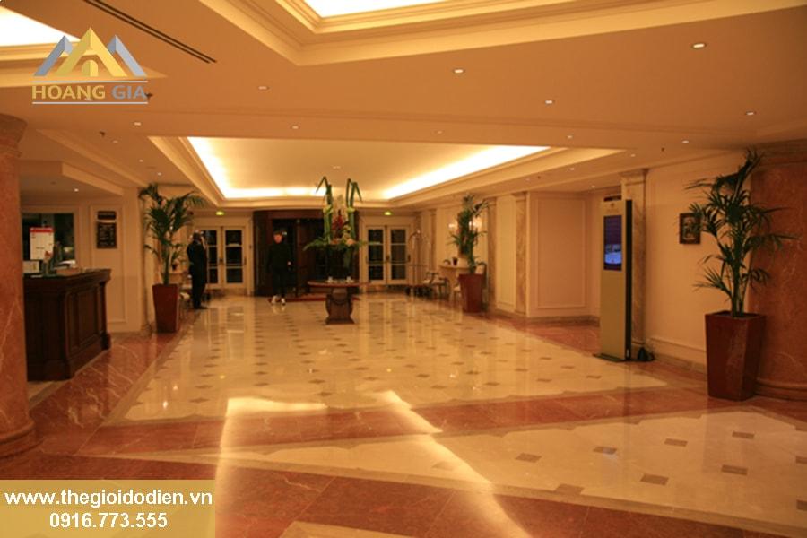Lựa chọn đèn âm trần chiếu sáng cho khách sạn cao cấp tại Hà Nội