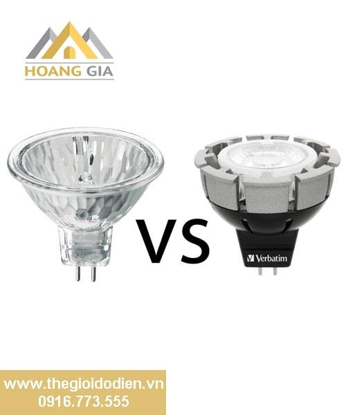 Đèn Led và Halogen: Sử dụng đèn LED tốt hơn đèn thông thường