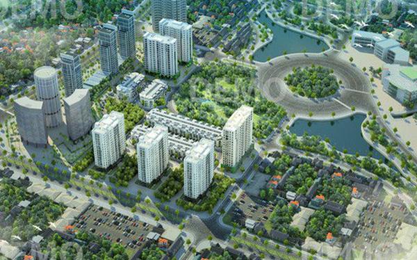 Đèn led tại dưn án khu đô thị Xuân Phương Residence Nam Từ Liêm Hà Nội