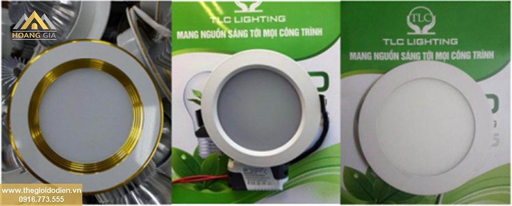 Các loại đèn LED âm trần cao cấp, chất lượng, giá tốt cho phòng khách