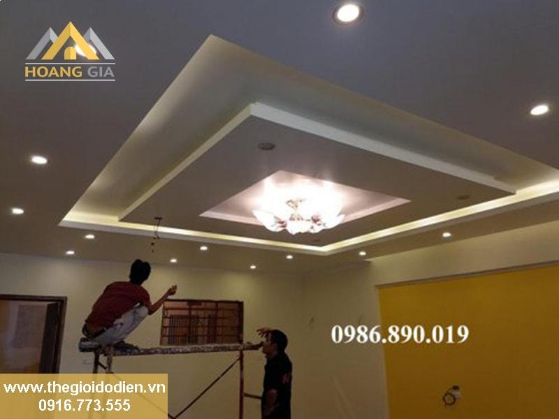 Cung cấp đèn LED âm trần, ốp trần cao cấp cho FLC Đại Mỗ
