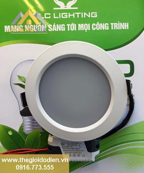 Sử dụng đèn led âm trần chống chói tốt cho mắt