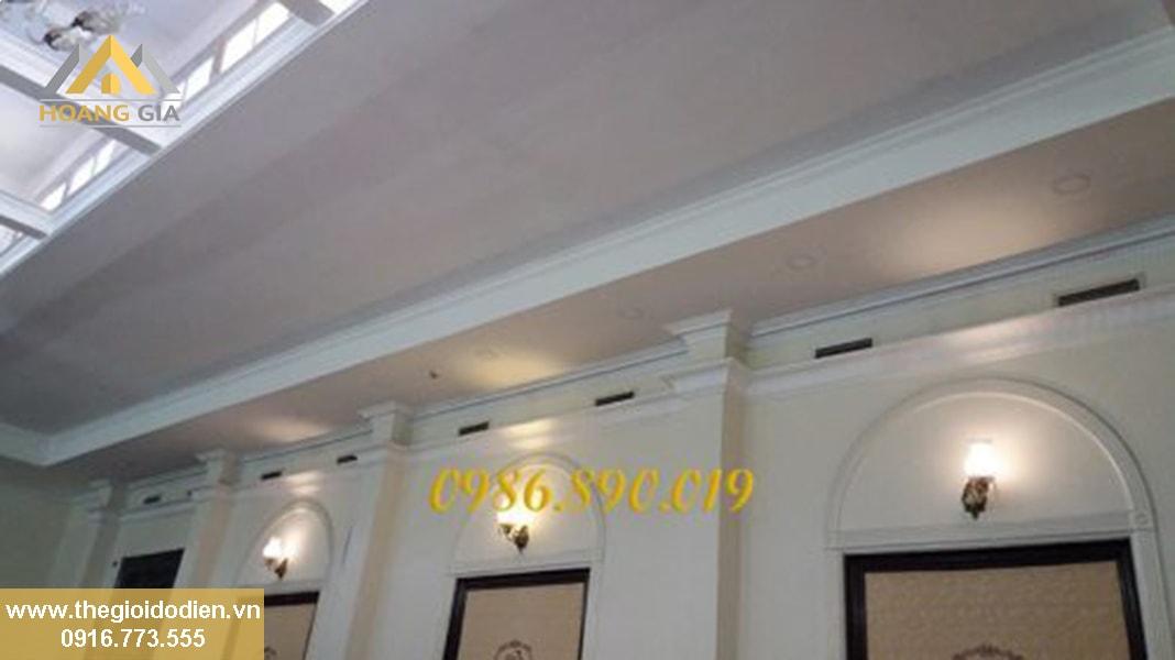 Sử dụng đèn LED âm trần siêu mỏng cho trần thấp