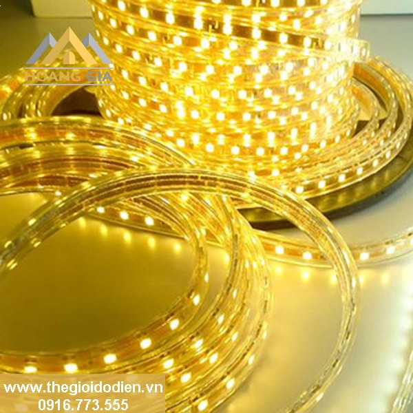 Tìm hiểu các loại đèn led dây dùng để trang trí được mua nhiều nhất hiện nay