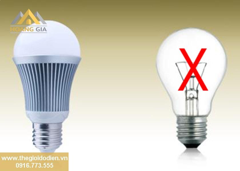 Những lí do chính giúp đèn led siêu sáng thay thế hoàn toàn đèn sợi đốt