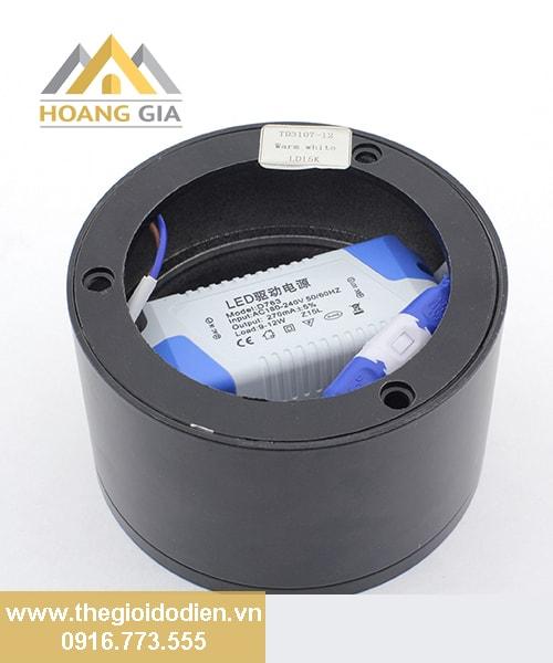Đèn led ống bơ tán quang 12w Kingled OBK-12