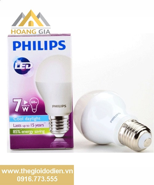 Đèn búp led Philips 7w