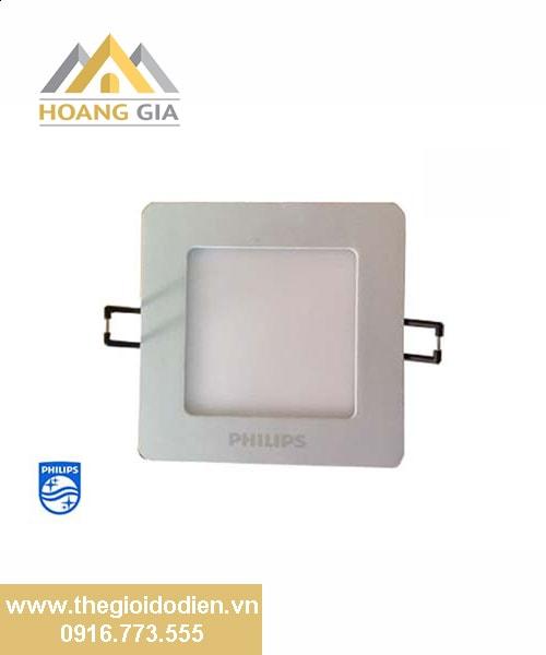 Đèn led âm trần vuông DN024B LED6 11W SQR