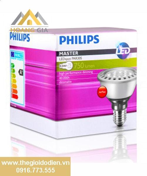 Đèn led chiếu điểm Master PAR30S Dim 9.5w Philips