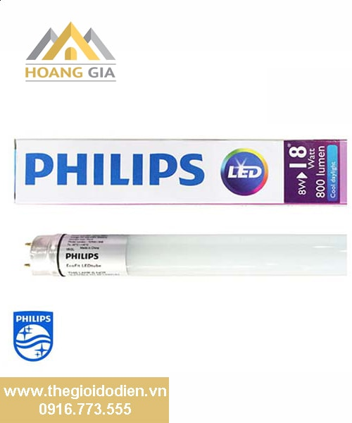 Đèn tuýp EcoFit LED tube 1m2 Philips 16w