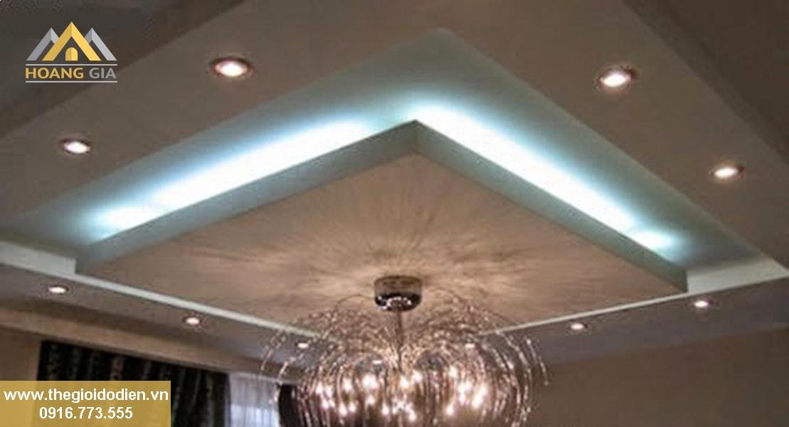 Các loại đèn led trần thạch cao tại Hà Nội được chọn mua nhiều nhất