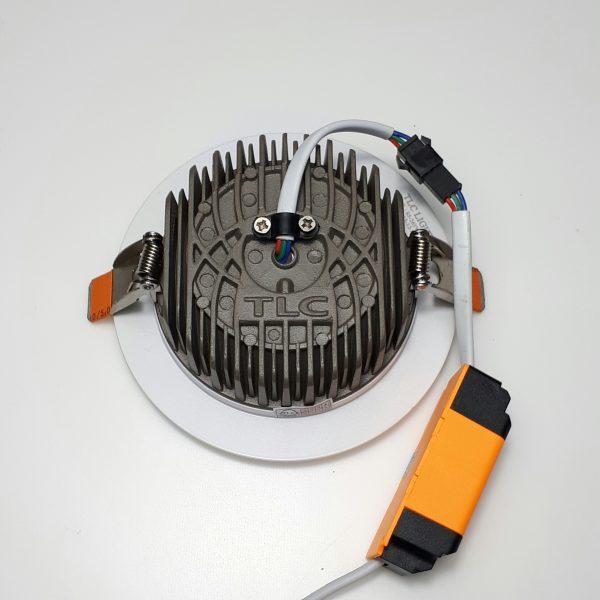 Tản nhiệt đèn led âm trần đúc khối