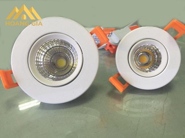 Đặc điểm của loại đèn Led âm trần rọi