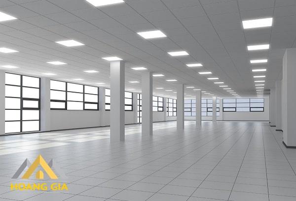 Đèn Led Panel tấm được ứng dụng cho rất nhiều công trình