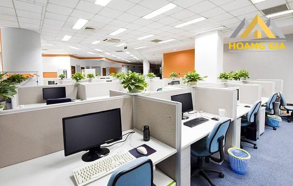 Đèn led Panel tại không gian phòng làm việc