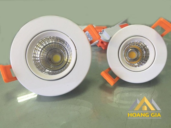 Đèn led downlight chip COB tròn