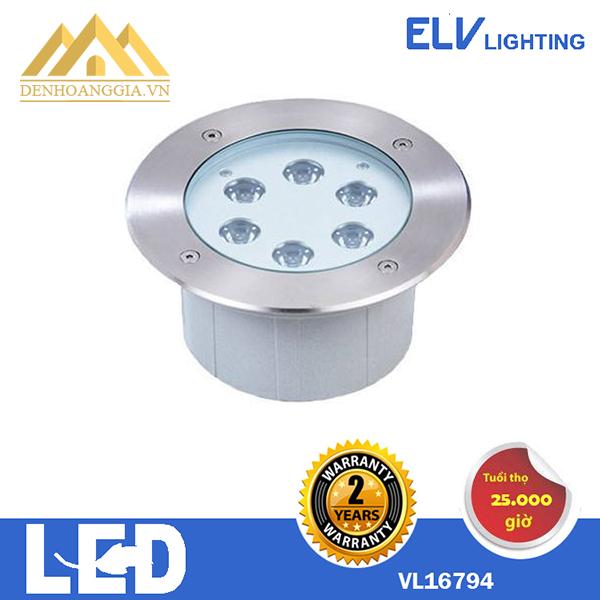 Đèn led âm nước ELV 6x3w VL 26794