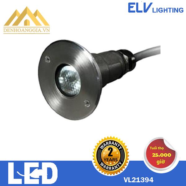 Đèn led âm nước ELV 1x3w VL21394