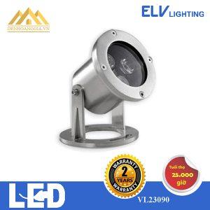 Đèn led âm nước ELV 3x3w VL23090