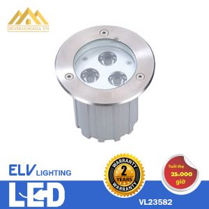 Đèn led âm sàn ELV 3x3w VL23582