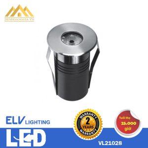 Đèn led âm sàn ELV 1x3w VL 21028