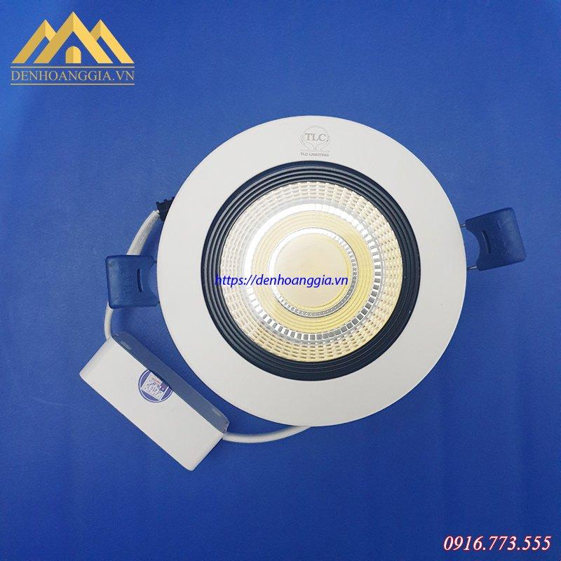 Đèn led âm trần Spotlight 7w tròn 3 màu