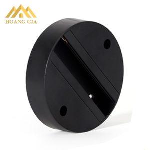 Bộ đế ngồi màu đen cho đèn led rọi ray