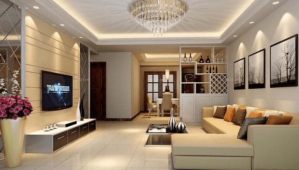 đèn mâm trang trí phòng khách