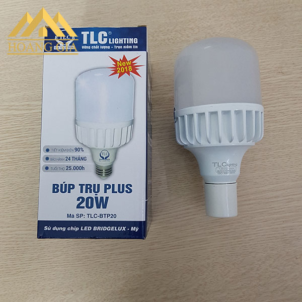 Đèn led búp trụ Plus 2018 TLC Lighting